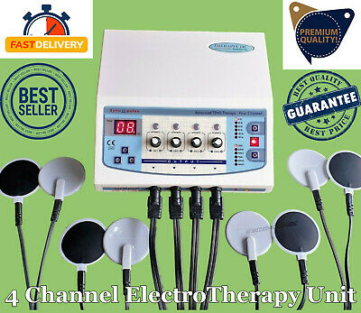 Latest Home Use Electrotherapy 4 Channel Unit Physiotherapy Ultrasound Machine