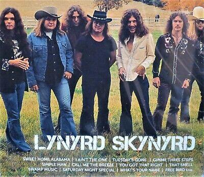 Lynyrd Skynyrd NEW! CD Best of 12 Tracks Greatest Hits Icon,Original Artist