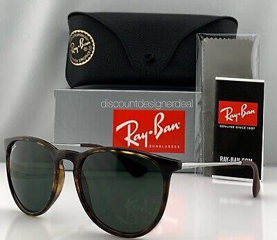 Ray-Ban RB4171 Erika Sunglasses Tortoise Classic Green Lenses 710/71 54mm (Rayban 4171)