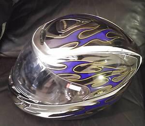 Rjays STRIKER - Motobike Helmet and Jacket South Wentworthville Parramatta Area Preview
