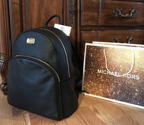 $154.50 - $348 Michael Kors ABBEY Leather Backpack Handbag MK Designer Bag