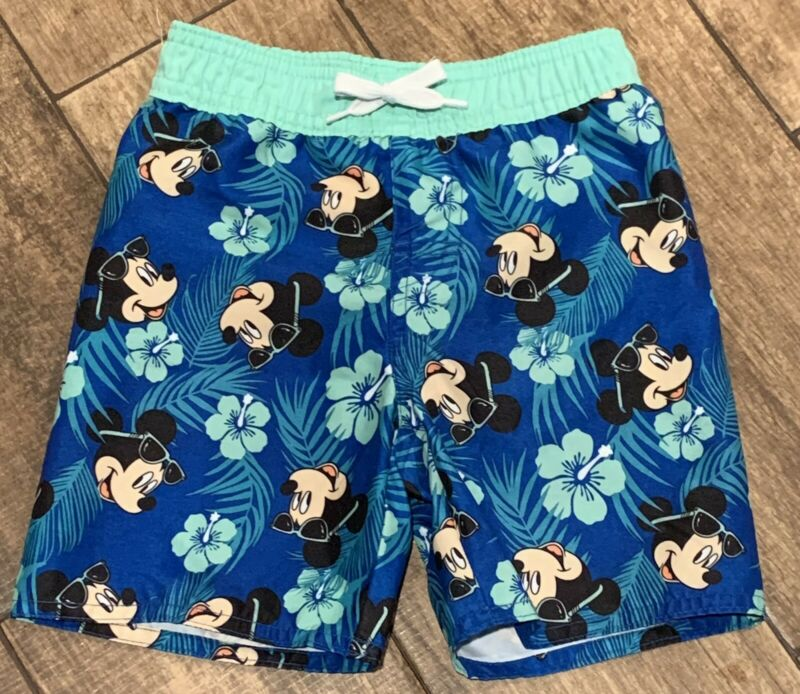 Disney Mickey Mouse Old Navy Collectabilities Swim Shorts