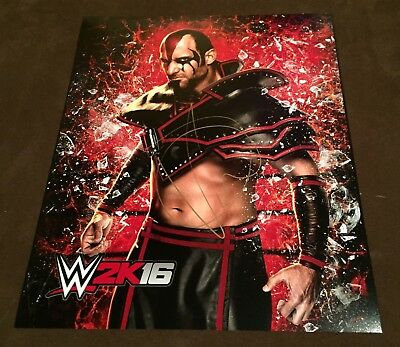 wwe viktor the ascension signed autographed 8x10 promo rare with proof