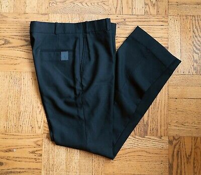 NEW N.Hoolywood Slim fit Wool Voile Pants size 40 (Japanese) US 32 Made in Japan