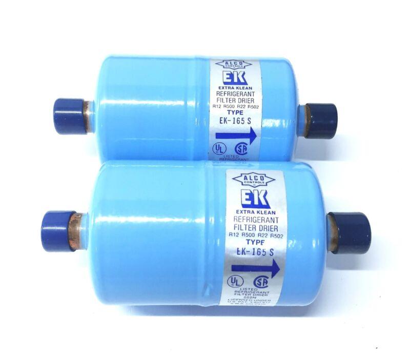"Alco ""EK Extra Klean"" Filter Drier EK-165-S [Lot of 2] NOS"