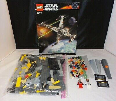 Lego Star Wars 6208 - B-wing Fighter - COMPLETE