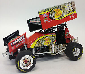 2012 STEVE KINSER BASS PRO SHOPS R&R SPRINT CAR 1:25 GMP WORLD OF OUTLAWS