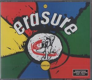 Erasure SEALED SPECIAL EDITION 2 CD +DVD The Circus FREE POSTAGE IN U.K. DELUXE