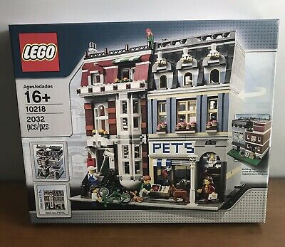 Lego 10218 Pet Shop, Creator Expert, Modular, New Factory Sealed