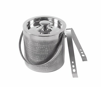 Premium Quality Stainless Steel Ice Bucket With Tong -