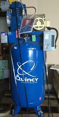 New Quincy Qt-5 Splash Lubricated Reciprocating Air Compressor