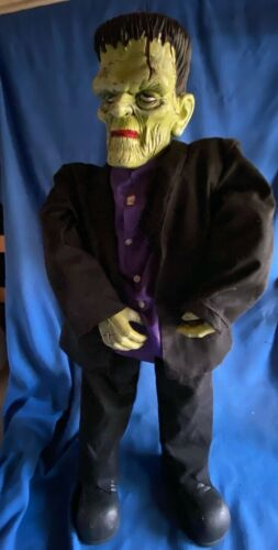 "Gemmy 36""Frightening Frank Frankenstein Monster Halloween Figure Non Talking Vsn"