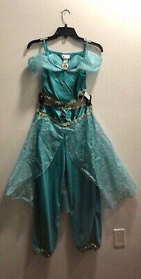 Disney World Aladdin Princess Jasmine Authentic Magic Kingdom 2-piece size 10-12](Authentic Princess Jasmine Costume)