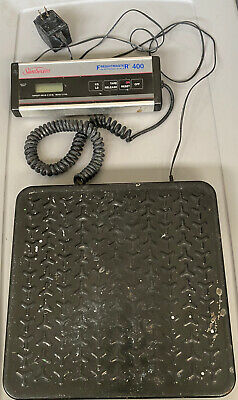 Used Sunbeam Freightmaster 400 Electronic Scale 400 Lb Capacity W Display