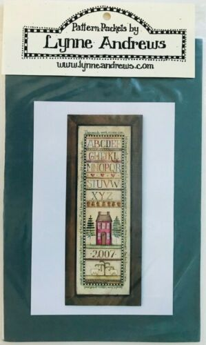 Lynne Andrews Tole Painting Pattern Packet Colonial Sampler #2007-08 New