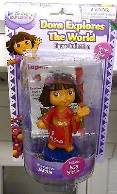 Dora The Explorer Figure Collection Series One DORA EXPLORES JAPAN New!