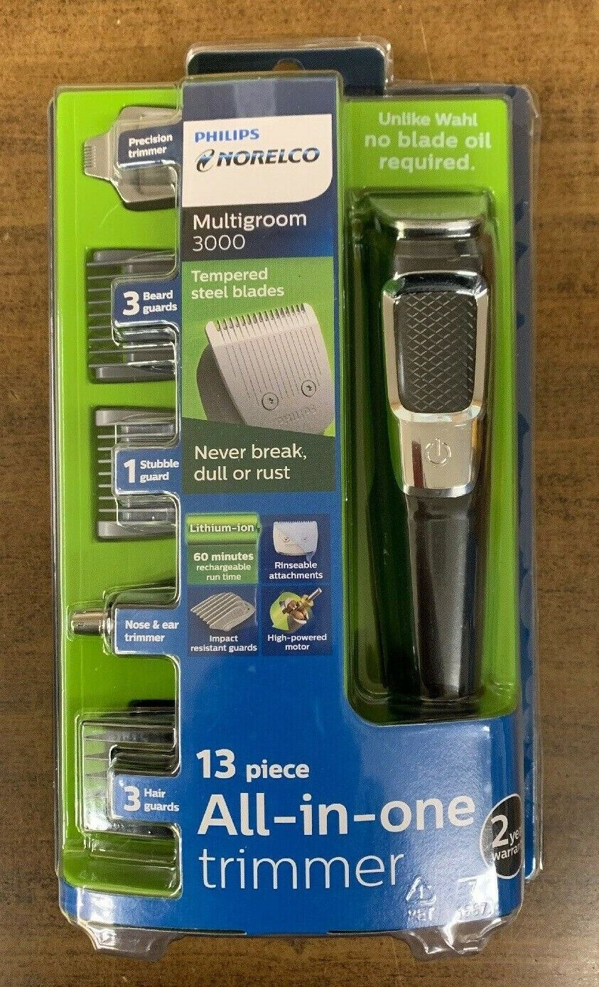 Philips MG3750/60 Norelco Multigroom 3000 Trimmer New In The