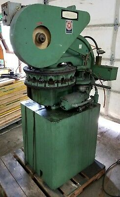Di-acro 18e Stylus Turret Punch Press 7.5 Ton 19 Throat 19 X 24 Carriage Usa