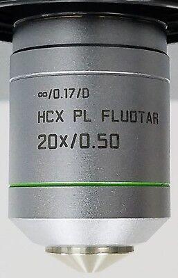 Warranty Leica Hcx Pl Fluotar 20x 0.5na Microscope Objective Lens
