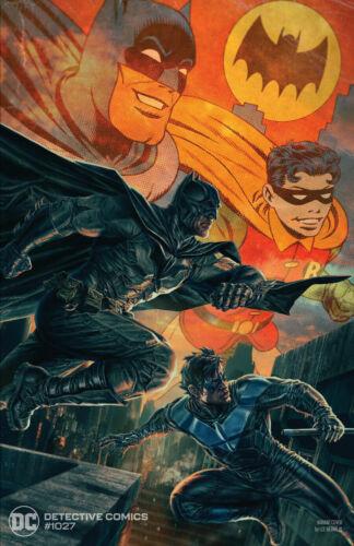 DETECTIVE COMICS #1027 NM COVER B LEE BERMEJO BATMAN NIGHTWING 9/15 PRESALE
