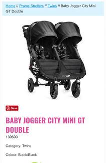 Baby Jogger City Mini GT Double 2014 Pram / Stroller