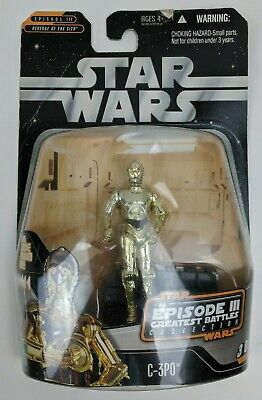 Star Wars Episode III Revenge Of The Sith Greatest Battles C-3PO Re