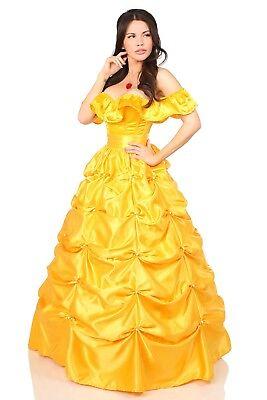 Belle Costume Plus Size (Sexy Daisy Corset Top Drawer Sexy Fairytale Belle Costume Plus Size)