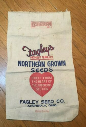 Cloth Seed Sack FAGLEY