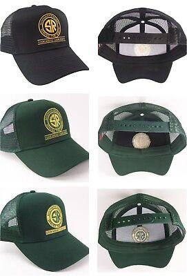 Southern Railway Railroad Look Ahead Mesh Cap #40-2102M Choose Hat & Logo Color