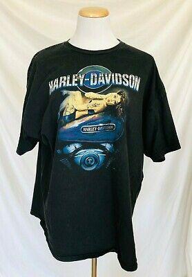 2009 T-Shirt Harley-Davidson Motorcycles St. Charles Missouri MO Pin Up 2XL XXL