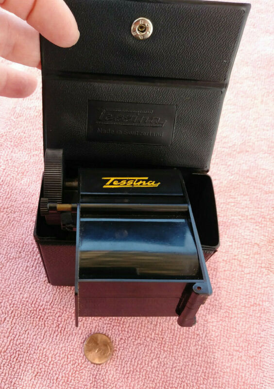 Daylight Film Loader with case~ for Tessina Subminiature Camera ~rare
