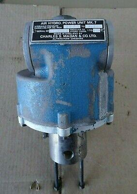 Madan Mk7 Air Hydro Hydraulic Pressure Pump Pneumatic Hydraulic Power Supply