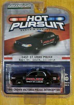 Greenlight Collectibles Hot Pursuit 2008 Ford Crown Victoria Police Interceptor