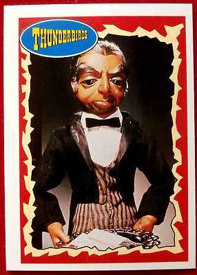 """THUNDERBIRDS - """"Yes, Milady!"""" - Card #45 - Topps, 1993 - Gerry Anderson"""
