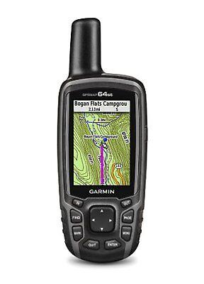 Garmin GPSMAP 64st Topo US 100K GPS Handheld Receiver