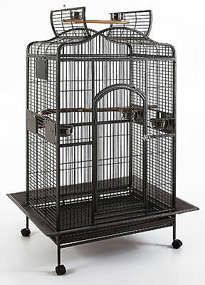 Extra Large Open Play Top Bird Parrot Cage Cockatiel Macaw Conure Aviary 349