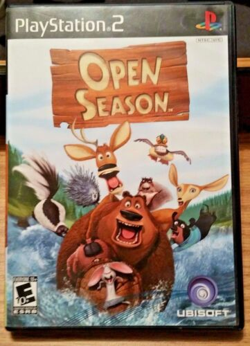 Open Season PS2  PlayStation2 Playstation 2 Video Game