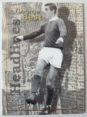 Futera GEORGE BEST Manchester United Headlines Card