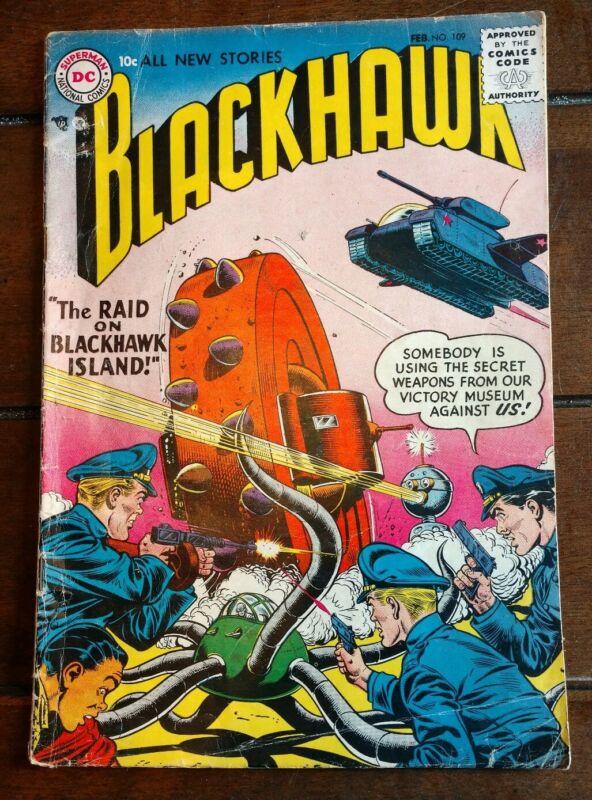 Blackhawk  No.109  Feb 1957