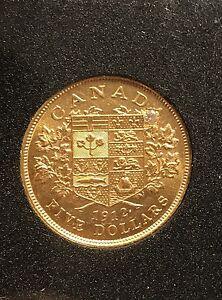 1912 Gold sovereign