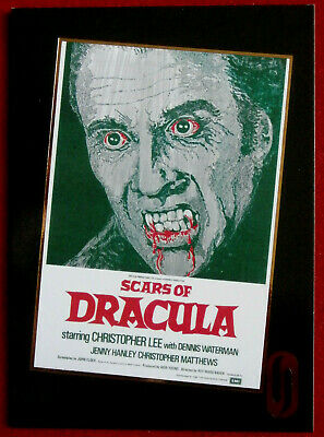 HAMMER HORROR - Series One - Gold Foil Card F8 - SCARS OF DRACULA