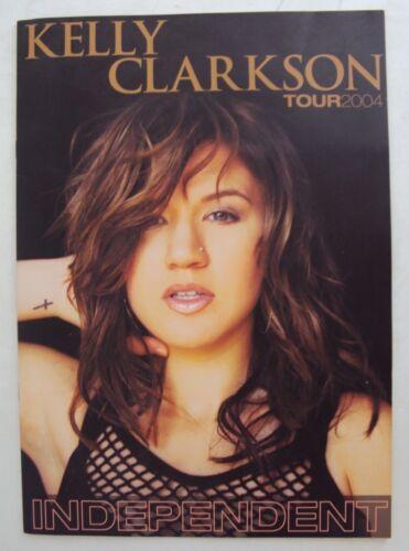 Independent Tour 2004 Concert Program Kelly Clarkson Clay Aiken Near Mint Music