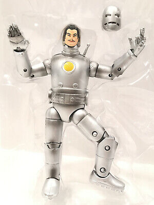 "Marvel Legends 6"" First Appearance IRON MAN from Mojo BAF Build a Figure Wave"