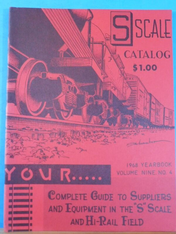 S Gauge Herald 1968 Yearbook Converting AF Equipment to Scale