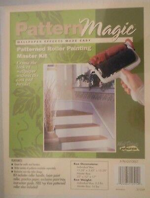 Designer Paint Rollers (Painting Kit Pattern Magic Designer Textured Patterned Dual Roller Ivy Vine)