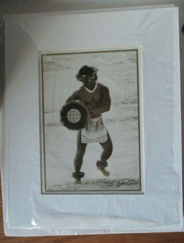 Kim Taylor Reece - Hawaiian 8 X 10 Matted Hula Print