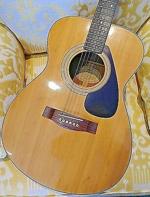 Yamaha FG-331 Acoustic Guitar Vintage '70s Taiwan, Smaller Body, Nice! for sale  Shipping to India