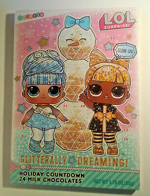 NEW LOL Dolls 'Glitterally Dreaming' Countdown Advent Xmas Holiday Calendar Gift
