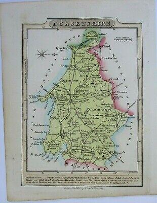 Antique map of Dorset by William Lewis 1819