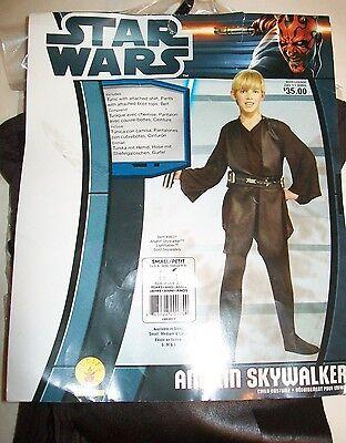 Star Wars Anakin Skywalker Boys Small 4-6x Child Costume Dress up Rubies 882017